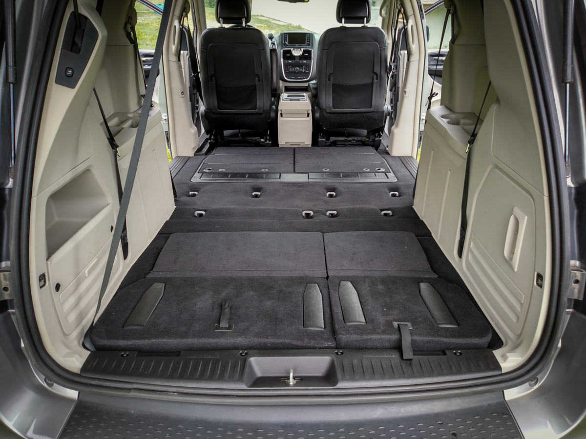Dodge Grand Caravan Interior Dimensions With Seats Folded